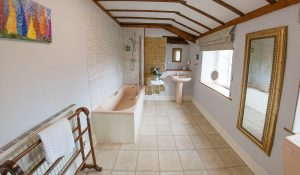 Golden Cap Ensuite Bathroom