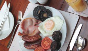 Traditional Warren House Breakfast