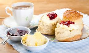 Cream Tea in the Tea Tent!