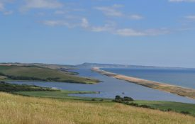 Take in the view of the wonderful Chesil Beach